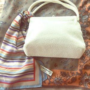 Vintage beaded Albief handbag made in England